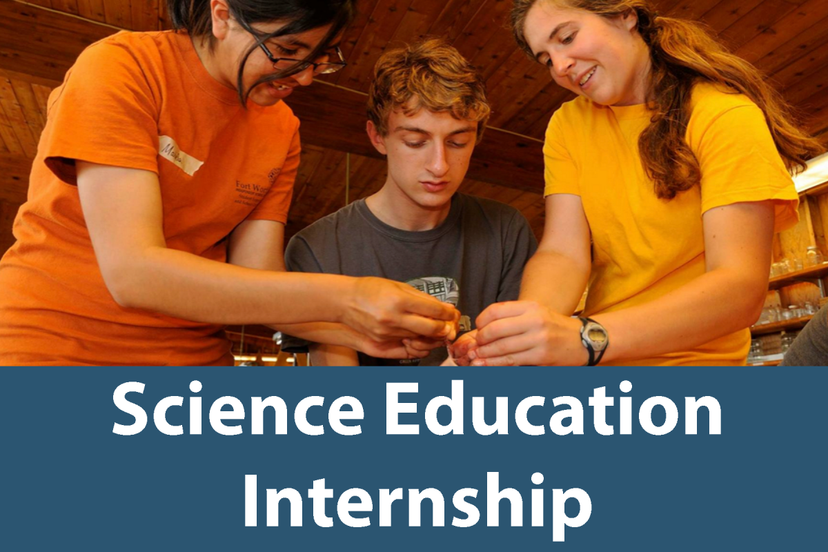 Click on this button to learn more about the Science Education Internship