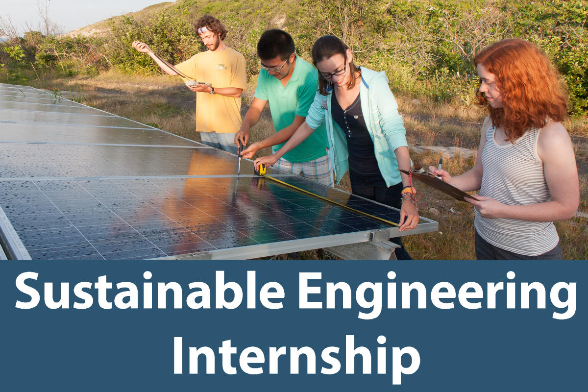 Click on this button to learn more about the Sustainable Engineering Internship
