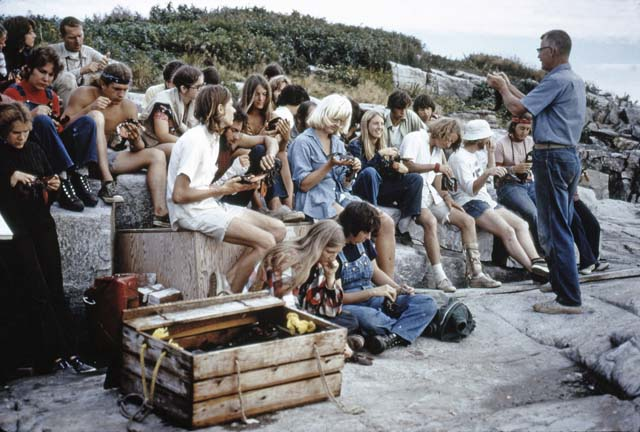 1973 Class on Rocks
