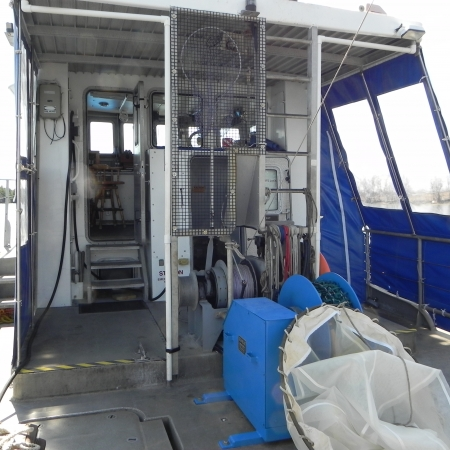 Top Deck of the Gulf Challenger