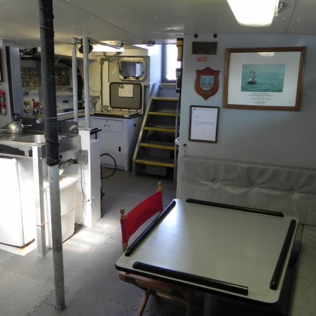 Vessel Challenger Galley Lounge